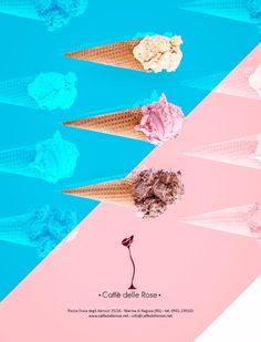 Caffè delle Rose ADV - Advertising Layout Magazine #bar #coffee #icecream #advertising #magazine #layout #graphic #design #inspiration #campain #pubblicità #media #creative #ideas #photograpy  www.euromanagement.it
