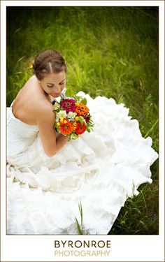 {Erin + Dan} Wedding Photography; Bridal Portrait