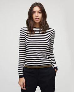 Jigsaw | Merino striped jumper