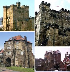 Newcastle upon Tyne, England (& The Black Gate)  -Romans built a fort in this location in 12 AD which became a cemetary, this castle was built in 1172 - there is about 75 feet between the castle and the gate  -many teams of paranormal investigators have documented proof of hauntings in this location