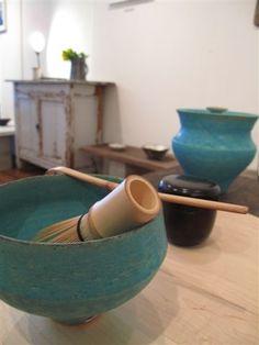 Japanese-style Tea Set for Matcha