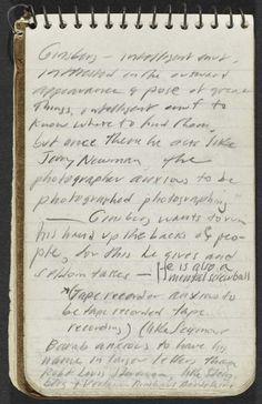 jack kerouac 1953 notebook