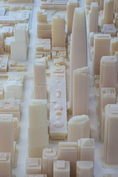 3ders.org - Autodesk & Steelblue created largest-ever 3D-printed model of San Francisco | 3D Printer News & 3D Printing News