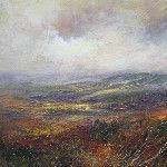 'From Stanage End Towards Kinder Scout' by Kristan Baggaley