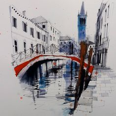 Fennelly Art (@ianfennelly) в Instagram: «Venice #aquarell #art #painting #watercolor #sketch #paint #drawing #sketching #sketchbook #travelbook #archisketcher #sketchaday #sketchwalker #sketchcollector #artjournal #traveldiary #topcreator #usk g#urbansketchers #скетчбук #скетч #скетчинг #pleinair #aquarelle #watercolorsketch #usk #architecture #venice