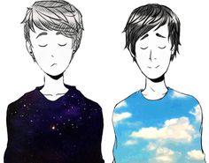 art byLily♥ danisnotonfire amazingphil