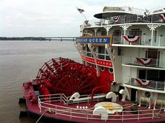 If you've been hearing calliope music downtown, it's coming from the American Queen, a brand new riverboat that's docked for the first time at Beale St. Landing.     Here's a look at the fanciest thing on the Mississippi.