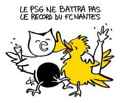 Défaite du PSG à Lyon - février 2016