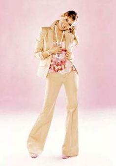 Beautiful pearl jewelry - sarah Jessica Parker - pearls - gap campaign.jpg