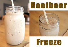 Make your own Rootbeer Freeze!  A cold, sweet treat in the summertime!