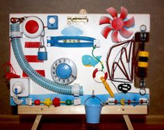 Beschäftigt Board Aktivitätsspielzeug Holzspielzeug von handdy