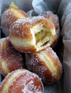 Apple Cider Doughnuts filled with Apple Compote – The Greedy Sprout Donut Recipes, Cooking Recipes, Yummy Recipes, Recipies, Apple Compote Recipe, Apple Cider Donuts, Apple Filling, Recipes, Finger Foods