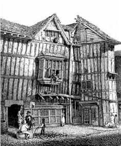 An Elizabethan house on Grub Street, London
