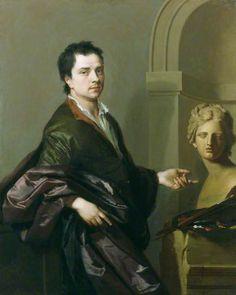 Michael Dahl (self portrait) ~ 1691, Michael Dahl I (he's far more handsome than I ever imagined)