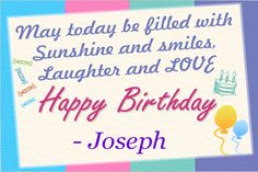 Celebrate your birthday with birthday banner.