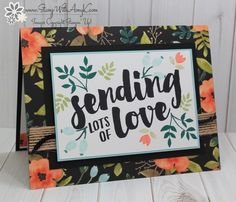 I used the Stampin' Up! Lots of Love stamp set and a little of the Whole Lot of Lovely DSP to create my card to share today. My card design was inspired by Freshly Made Sketches #294. I start…
