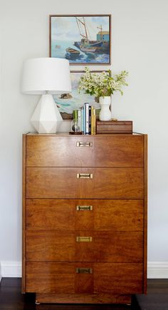 Master Bedroom Makeover Im Into That Master Bedroom Makeover regarding sizing 1000 X 1554 Master Bedroom Dresser Top Decor - If you would like to change Dresser Top Decor, Tall Dresser, Dresser Ideas, Wood Dresser, Dresser Decorations, High Boy Dresser, Brown Dresser, Dresser Makeovers, Dresser Drawers
