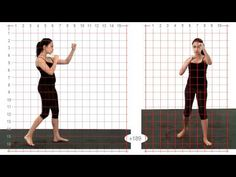 Front Snap Kick High: Grid Overlay: Young Adult Female - Animation Reference - YouTube