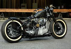 H-D Knucklehead.  I really want one of these.