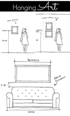 Guide to hanging art