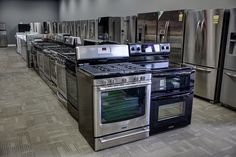 Ranges and Refrigerators