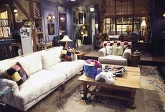 Friends Apartment. I've always like Monica's apartment, especially the big window.