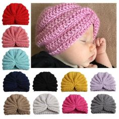 New Toddlers Infant Baby Children Hollow Out Hat Headwear Hardness Cap Hat Newborn Photography Props Fotografia Solid Baby Hat Baby Winter Hats, Baby Girl Winter, Baby Hats Knitting, Knitted Hats, Crochet Hats, Baby Beanie Hats, Newborn Crochet, Crochet Toddler, Girl With Hat