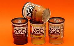 2GO: llaunes de cafè, cappuccino, tè a la llimona, xocolata i consomé autoescalfables! / 2GO: latas de café, cappuccino, té al limón, chocolate y consomé autocalentables! / 2GO: auto heatable cans of black coffee, cappuccino, lemon tea, chocolate and consommé!