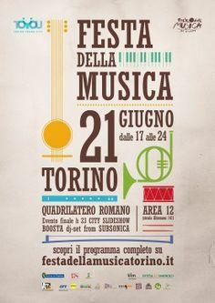 Festa della Musica - Torino 2013 - poster