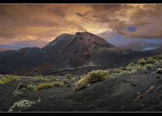 Vulkankrater bei Fuencaliente - La Palma 2 von Werner Kühn - Koditek