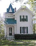 The Mann House in Concord tells the story of Victorian life in Michigan. This beautiful house, built in 1883, showcases many late-Victorian features and has a restored carriage house with carriages and sleighs.
