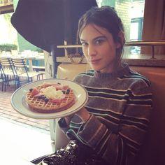 "65.4k Likes, 294 Comments - Alexa (@alexachung) on Instagram: ""Happy New Waffles."""