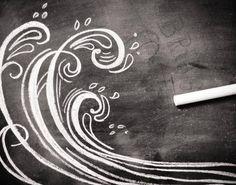 chalk waves