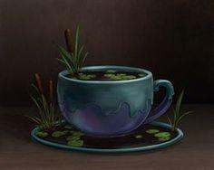 Cattail Tea by ursulav