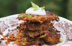 Culy.nl - Zoete aardappel latkes uit het Forest Feast kookboek -