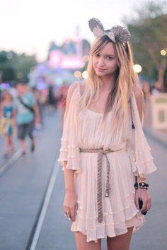 flowy dress.