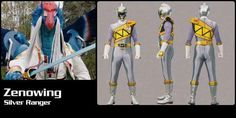 Zenowing Dino Charge Silver Ranger