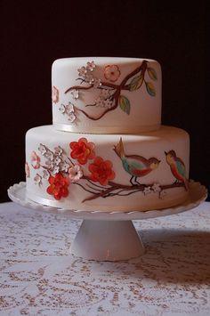 Gorgeous Cakes, Pretty Cakes, Amazing Cakes, Cupcakes, Cake Cookies, Cupcake Cakes, Bolo Floral, Floral Cake, Cake Pops