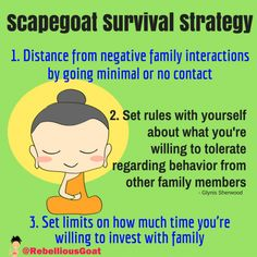 Quote 185- Scapegoat Survival Strategy