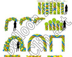Create Flyers, Football Themes, Balloon Columns, Balloon Decorations, Yard Art, Flyer Template, Photo Art, Balloons, Menu