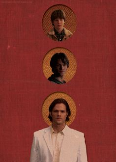 Sam + Lucifer: O Rose thou art sick.  The invisible worm,  That flies in the night  In the howling storm:   Has found out thy bed Of crimson joy: And his dark secret love Does thy life destroy. #spn