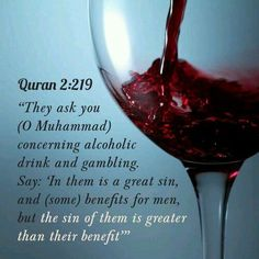 """Dave asks, """"Can Muslims drink a little bit of wine or smoke a little bit of pot?"""" Find out WHY alcohol is forbidden:"""