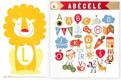 Wonderful Letters and Words! by Nicole Fischer on Etsy
