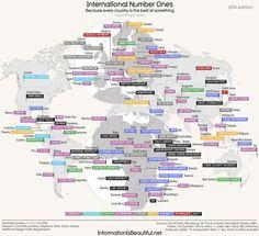כל מדינה והתחום הכי טוב שלה (אתר רשמי , InformationisBeautiful.net)