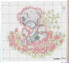 Tatty Teddy and more flowers - 2 of 2