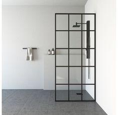 New Bathroom Designs, Walk In Shower Designs, Modern Bathroom Design, Bathroom Ideas, Bathroom Interior, Shower Ideas, Bath Ideas, Industrial Bathroom Design, Bathroom Inspo