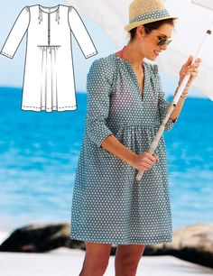 Beach Time: 8 New Patterns – Sewing Blog | BurdaStyle.com#read-on