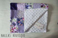 Baby Patchwork Blanket Baby Patchwork Quilt by NallasBoutique