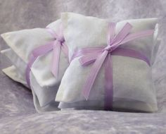 Lavender Dryer Sachets  - 2 Sets of 3 Eco Friendly Cleaning - Laundry and Cleaning
