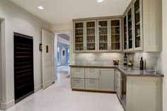 Image result for glass-front upper kitchen cabinets to ceiling Kitchen Cabinets To Ceiling, Glass, Image, Home Decor, Decoration Home, Drinkware, Room Decor, Corning Glass, Interior Decorating